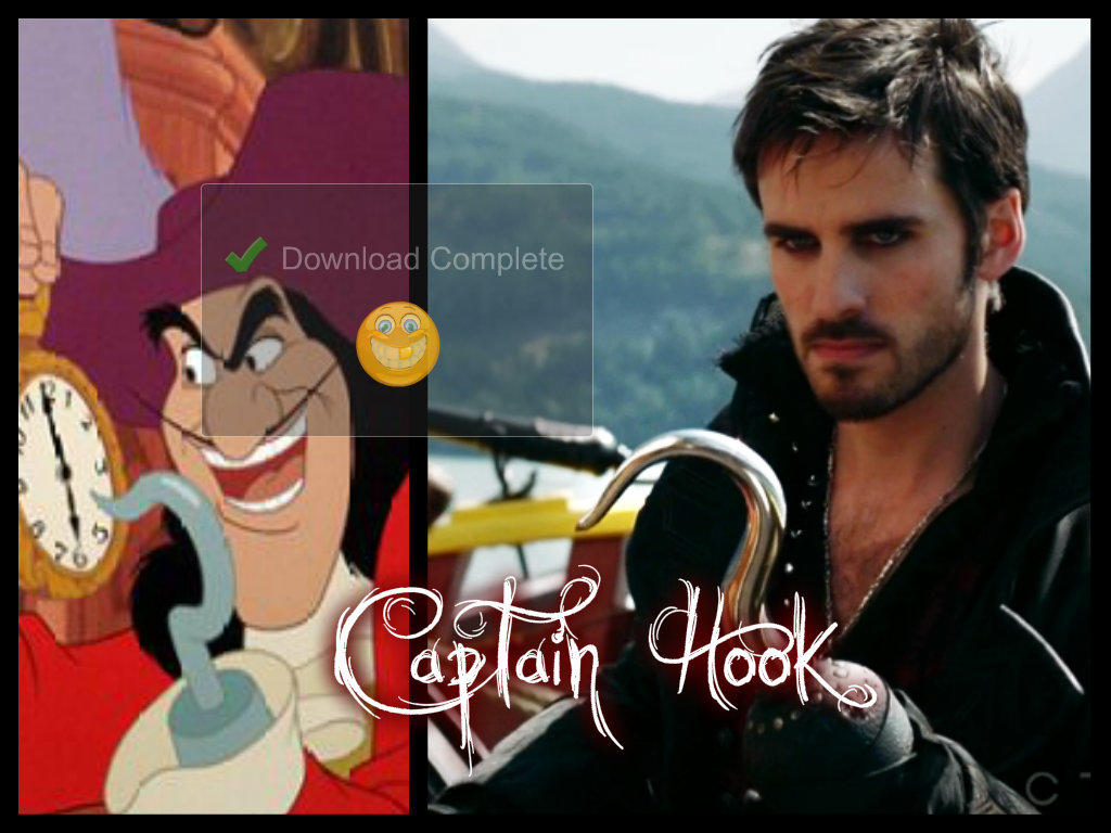 captain hooks first name
