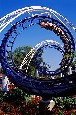 Cedar Point Corkscrew