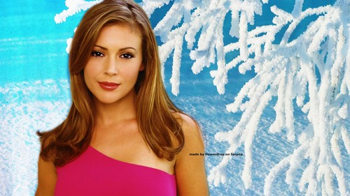 Charmed wallpaper probably containing a maillot, a bustier, and a swimsuit called Charmed Wallpaperღ Winter Special