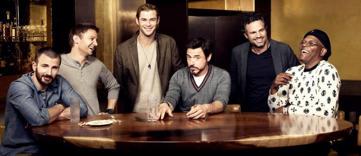 Chris, Jeremy, Robert, Chris, Mark and Samuel