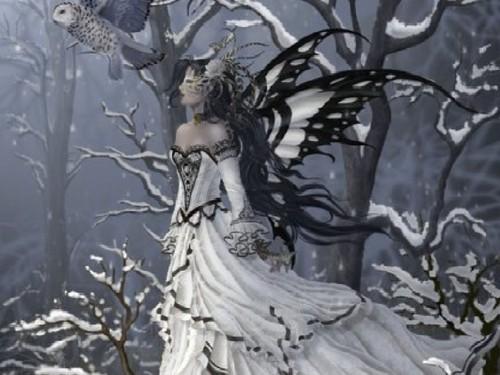 giáng sinh Fairy hình nền