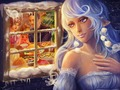 Natale Fairy wallpaper