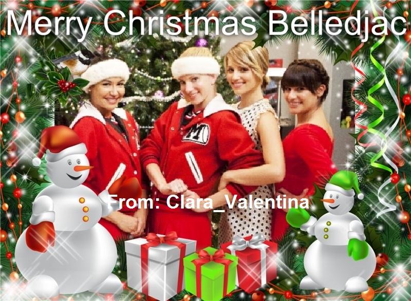 Christmas Gift Glee Fan Art 33124993 Fanpop