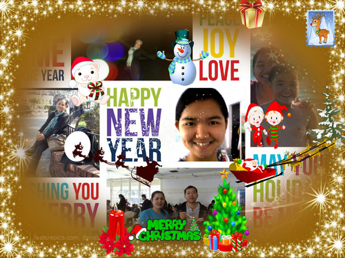 Christmas/ New tahun Collage