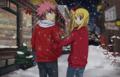 Christmas Shopping - natsu-x-lucy fan art