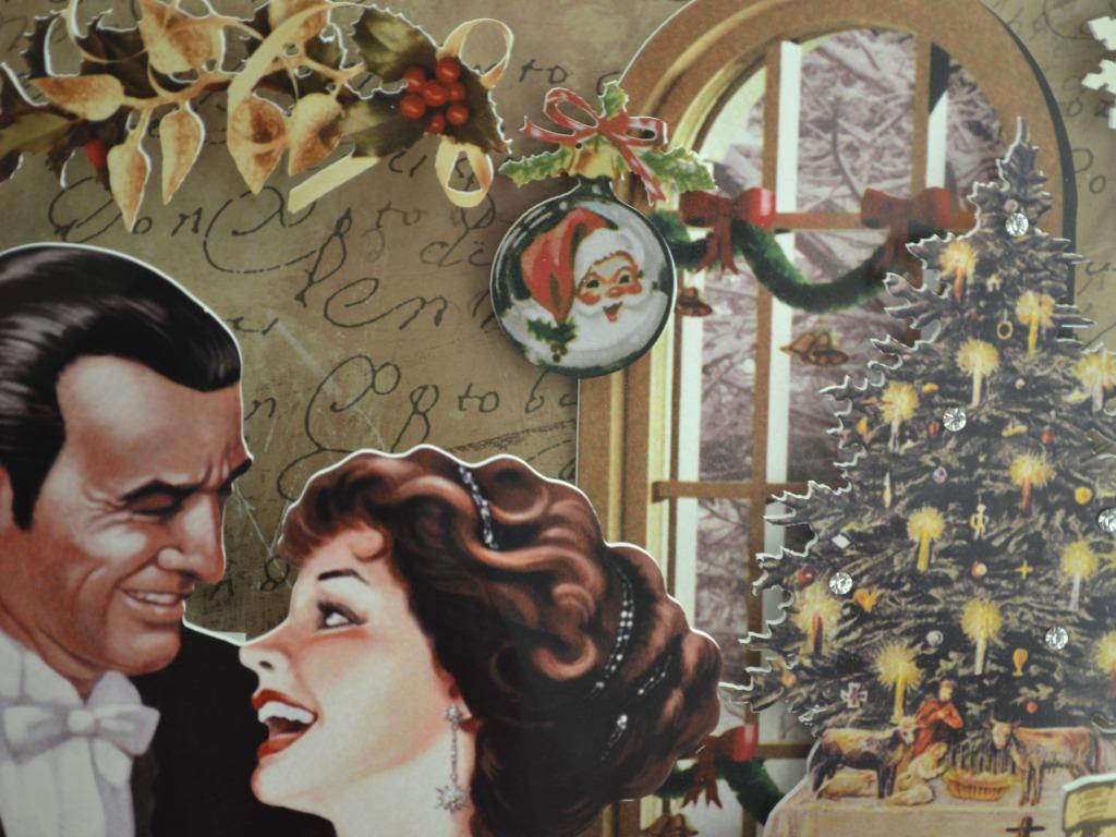vintage images christmas vintage wallpaper hd wallpaper and background photos - Vintage Christmas Photos