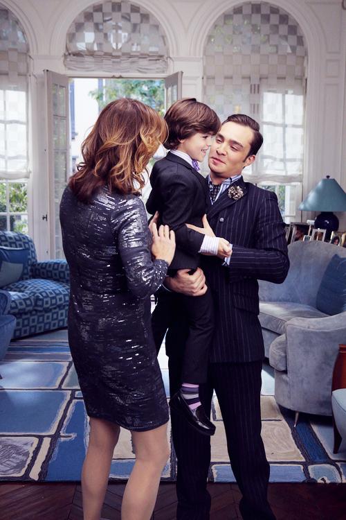 Chuck, Henry & Ele... Ed Westwick Girlfriend