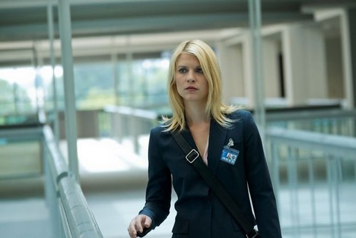 Claire Danes as Carrie Mathison on Homeland