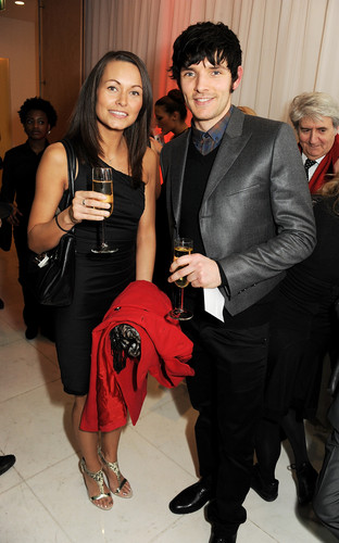 Colin at National Ballet Christmas party