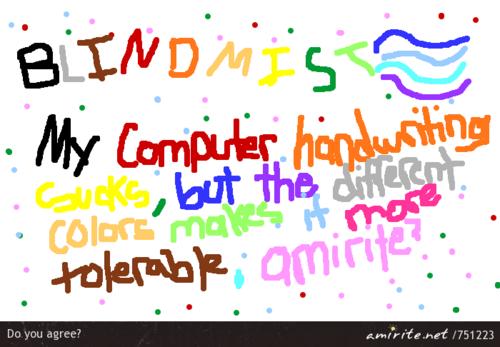 Computer couleurs