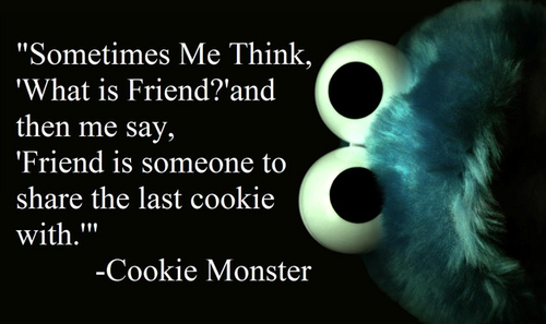 Cookie Monster! :D