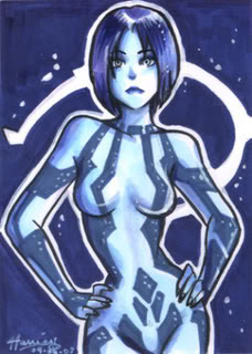 Halo wallpaper called Cortana