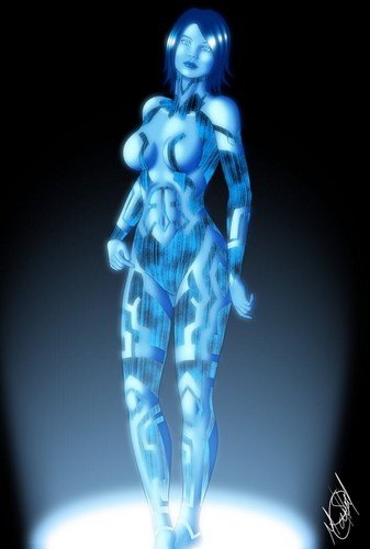 Halo wallpaper titled Cortana