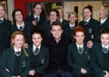 Damian at St. Cecilia's College - damian-mcginty photo