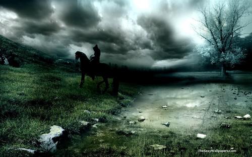 Dark achtergrond