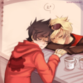 Dave and John - homestuck photo