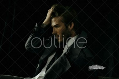 David Beckham: Photoshoot