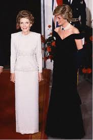 Diana And Former First Lady, Nancy Reagan