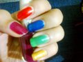 Different colours - nails-nail-art photo