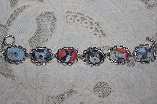 áo nịt, áo nịt ngực, cardigan Welsh Corgi bracelet