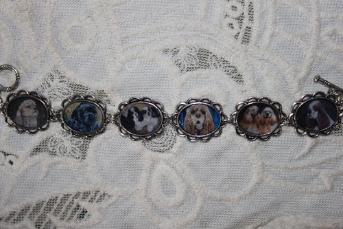 American Cocker spaniel bracelet
