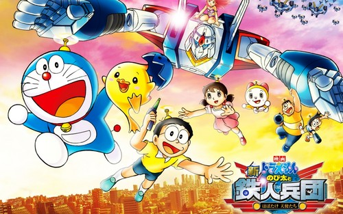 Doraemon and vrienden