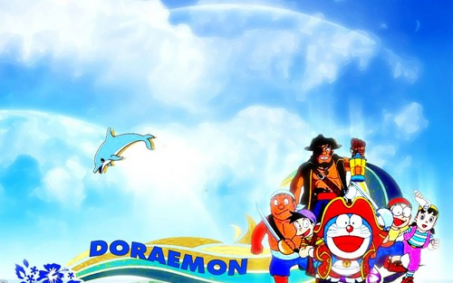 Doraemon-O Gato do Futuro and friends