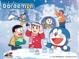 Doraemon Hintergrund probably containing Anime called Doraemon
