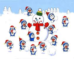 Doraemon Hintergrund titled Doraemon