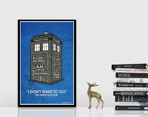 Dr. Who quote poster
