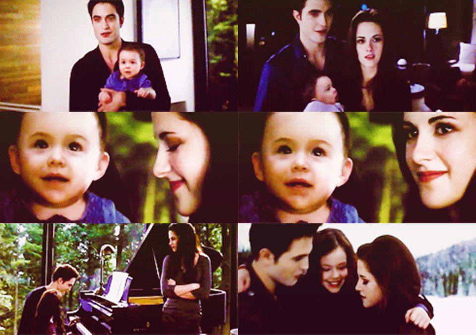 Edward,Bella&Nessie
