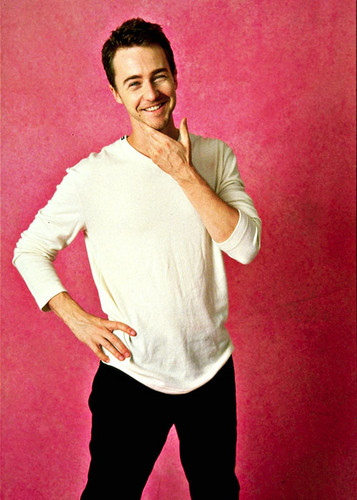 Edward Norton wallpaper called Edward's smile
