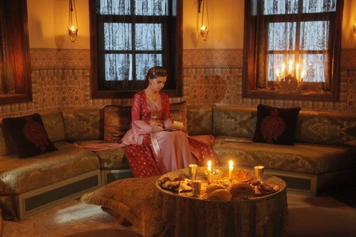 Muhtesem Yüzyil - Magnificent Century wallpaper probably containing a candle entitled Episode 73