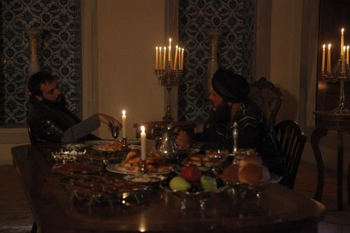Muhtesem Yüzyil - Magnificent Century wallpaper containing a makan malam meja and a dining room titled Episode 74