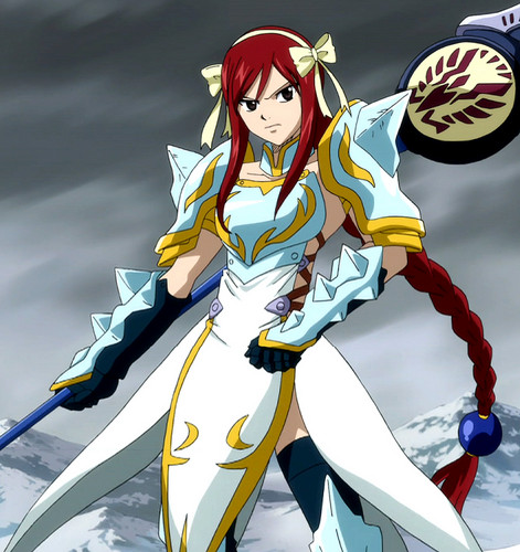 Anime wallpaper titled Erza Light Empress Armor
