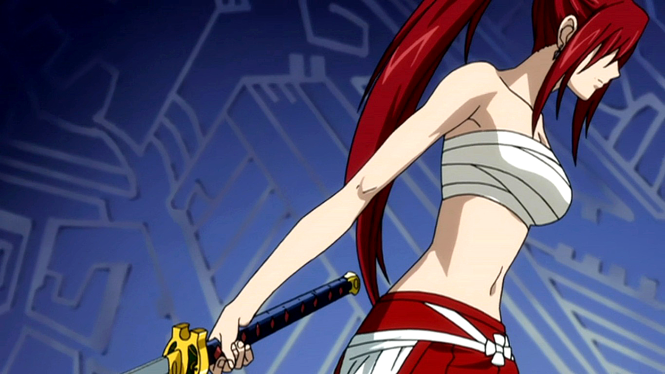 Fairy Tail images Erza HD wallpaper and background photos ...
