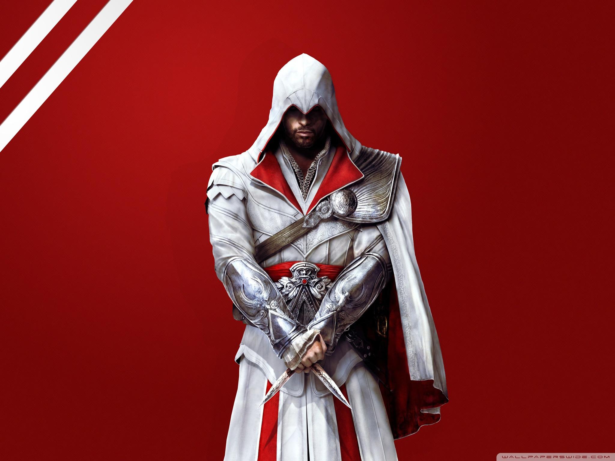 Ezio Auditore The Assassin S Wallpaper 33119244 Fanpop