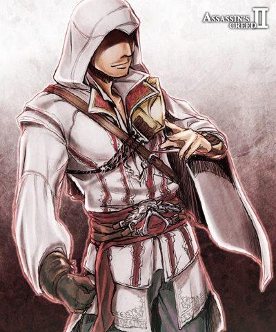 Ezio Auditore The Assassin S Fan Art 33171914 Fanpop