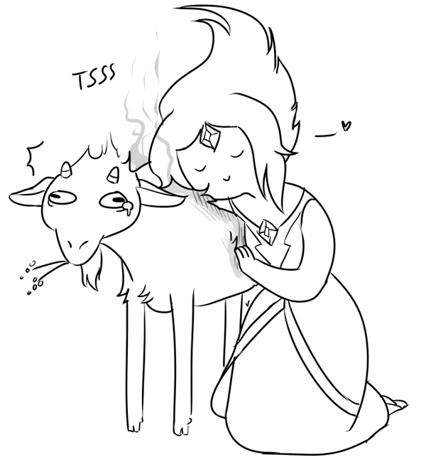 FP and Her Goat