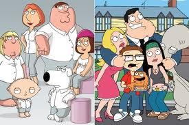 Family Guy and American Dad!
