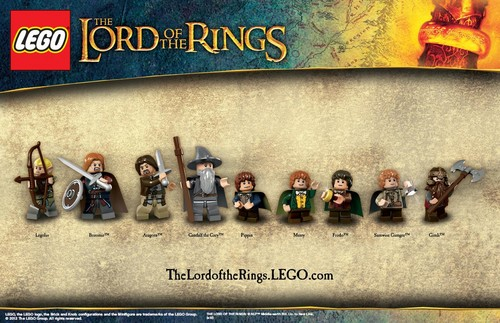 Fellowship Of the Rings Lego Collection