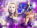 For quinn_santana (SS) - glee wallpaper