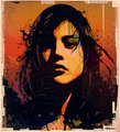Frances - frances-bean-cobain fan art