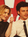 Francois Arnaud and Holliday Grainger - francois-arnaud-and-holliday-grainger photo