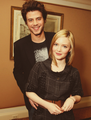 Francois Arnaud and Holliday Grainger