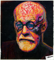 Freud, who Died - psychology fan art