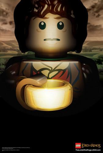 Frodo Lego poster