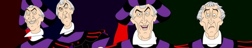 Frollo's variety of expressions