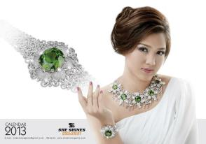 Thet Mon Myint 壁紙 with a portrait entitled Gem CF