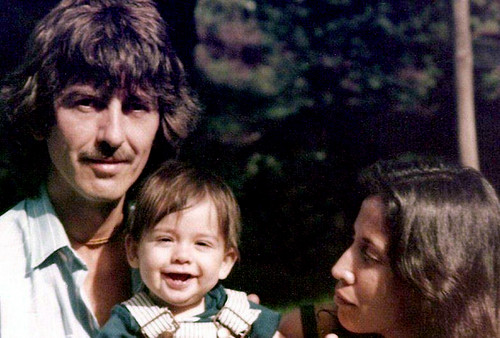 George, Olivia & Dhani